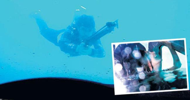 'Eve Dönüş'ün su altı çekimleri Hollywood filmlerini aratmadı