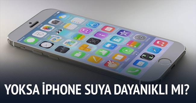 Yeni iPhone 6S su geçirmez mi?
