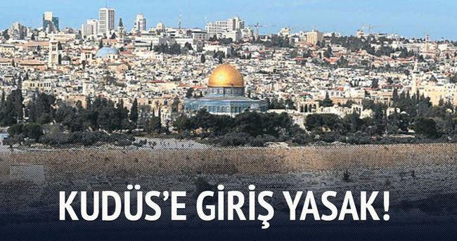 Filistinlilerin Kudüs'e girişi yasaklandı