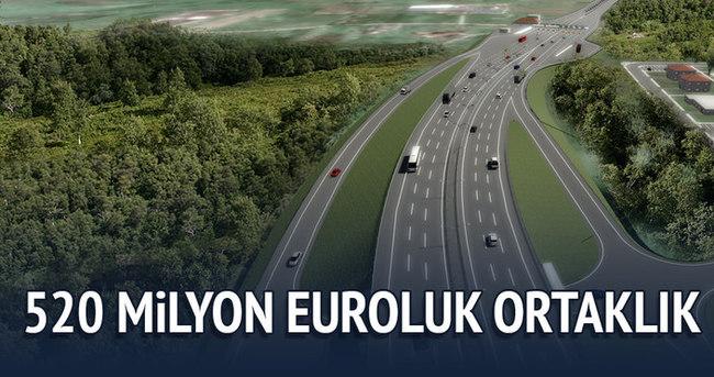 Ulaşım için 520 milyon euroluk ortaklık