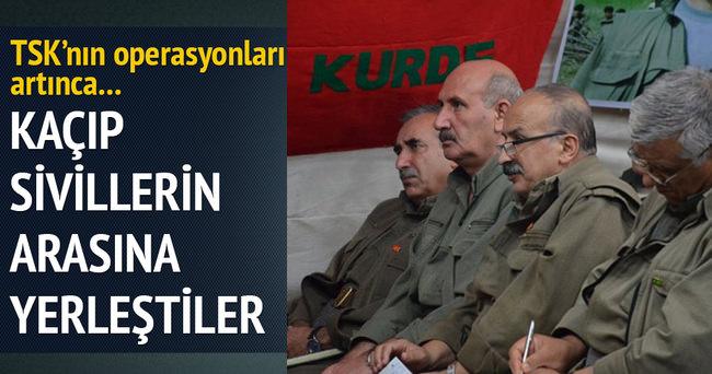 PKK'nın üst düzey isimleri Suriye'ye kaçtı