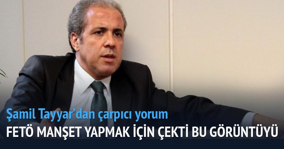 Şamil Tayyar'dan fotoğrafa çarpıcı yorum