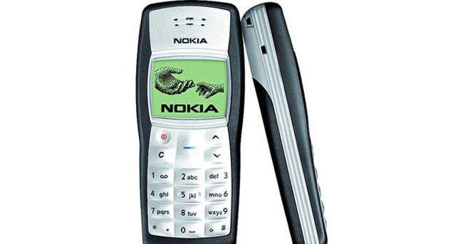 Dünyanın en çok satan telefonu: Nokia 1100