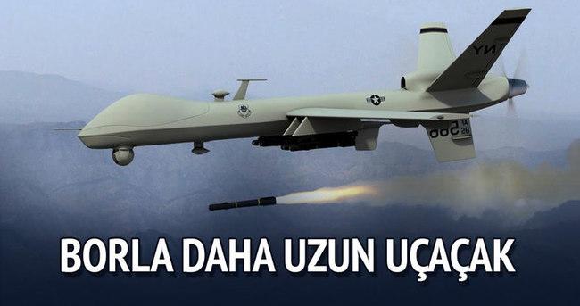 İnsansız hava araçları borla daha uzun uçacak