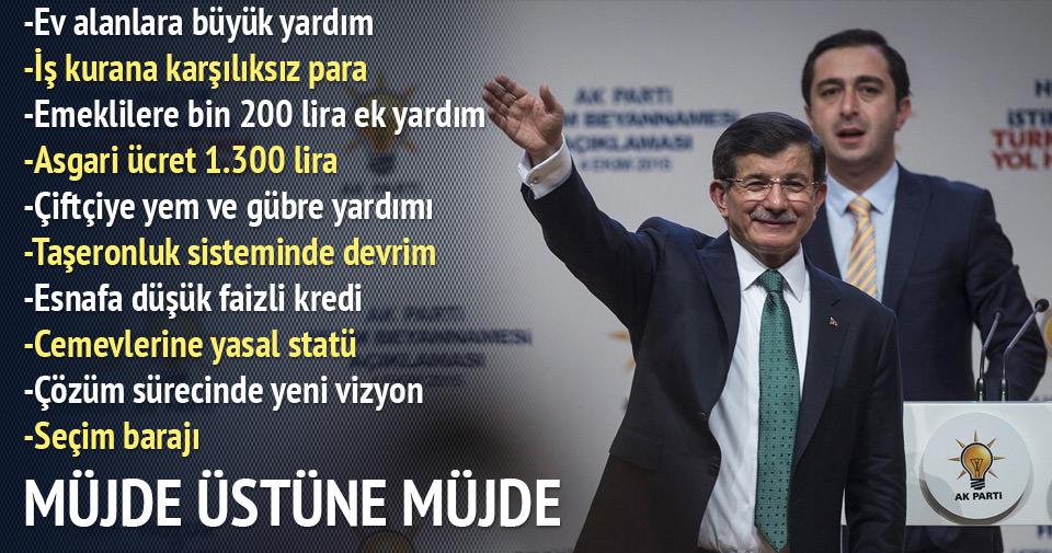 AK Parti Seçim Beyannamesi'nin tam metni