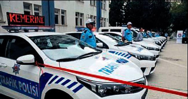 Kahramanmaraş polisine 1 yılda 40 araç alındı