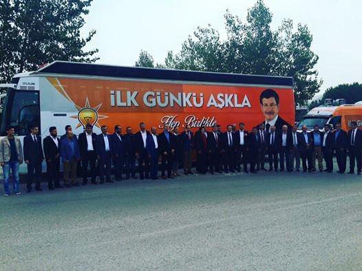 AK Parti Milletvekili Adayları Seçim Çalışmalarına Başladı