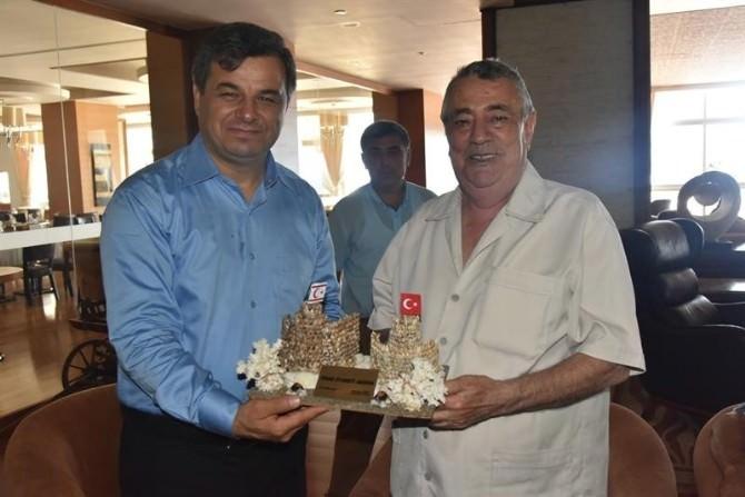 Anamur Belediye Başkanı Mehmet Türe KKTC'de Temaslarda Bulundu