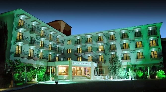 Emet Termal Resort Otel Yerli Ve Yabancı Turistlerin Gözdesi