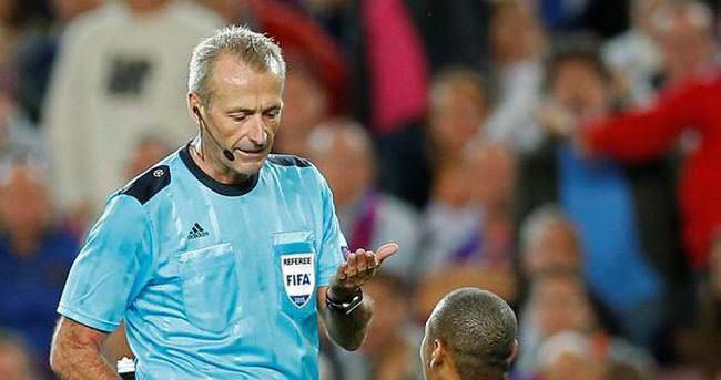 Çek Cumhuriyeti - Türkiye maçı Martin Atkinson'un