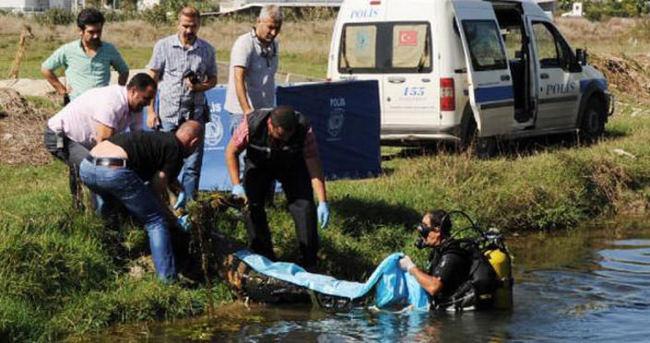 Su kanalında erkek cesedi bulundu!