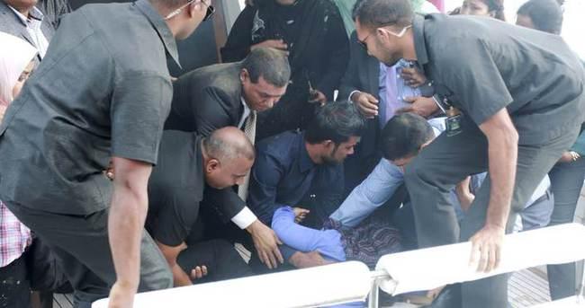 Maldivler Devlet Başkanı'na suikast yapılmış!