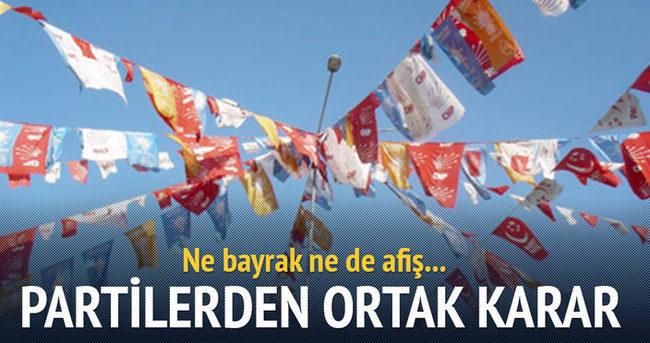 Ankara'da siyasi partilerden ortak karar