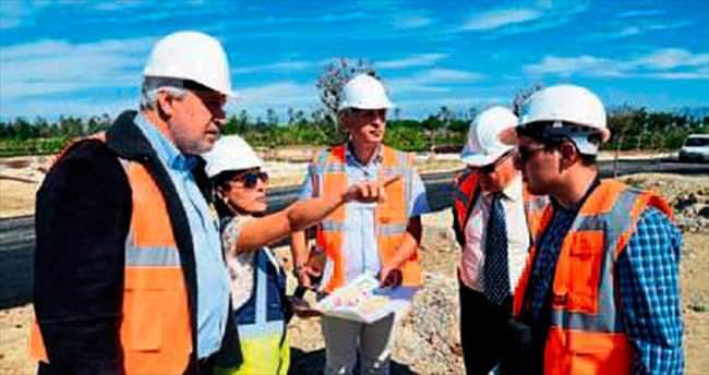 Bulgaristan heyeti kalıcı bahçe kuracak