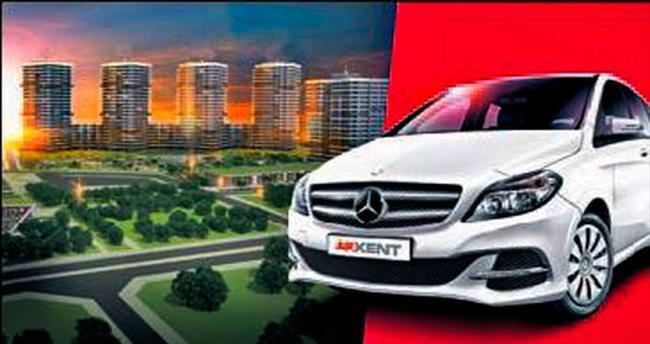 Akkent'ten ev alana Mercedes şansı