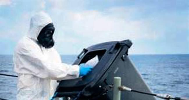 400 kilo eroin denize boşaltıldı