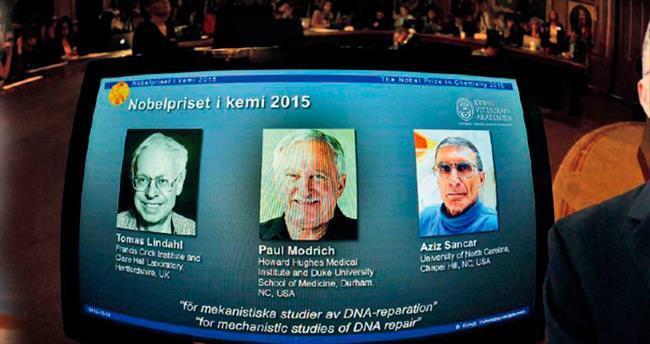 Nobel Kimya Ödülü Mardinli Sancar'ın