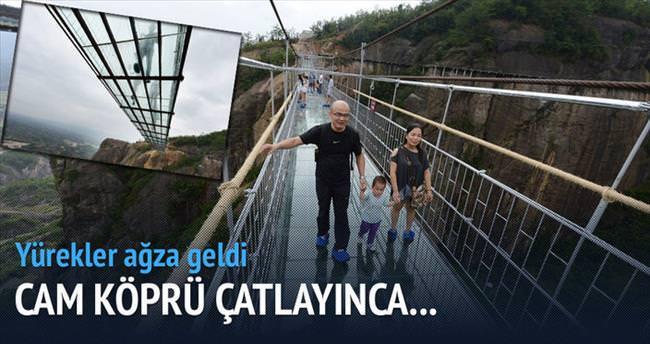 Cam köprü çatladı yürekler ağza geldi