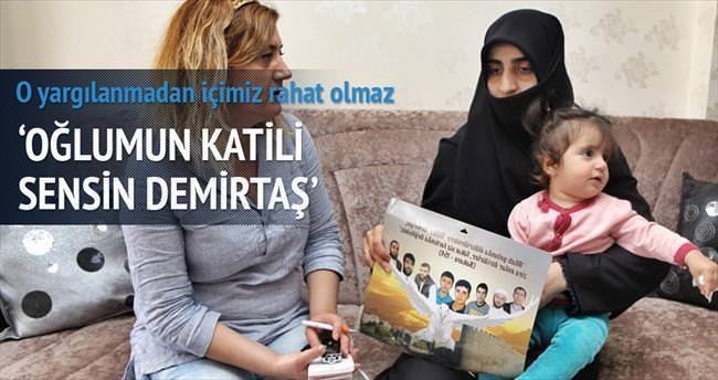 Yasin Börü'nün annesi: Demirtaş'a bedduam sonsuz!
