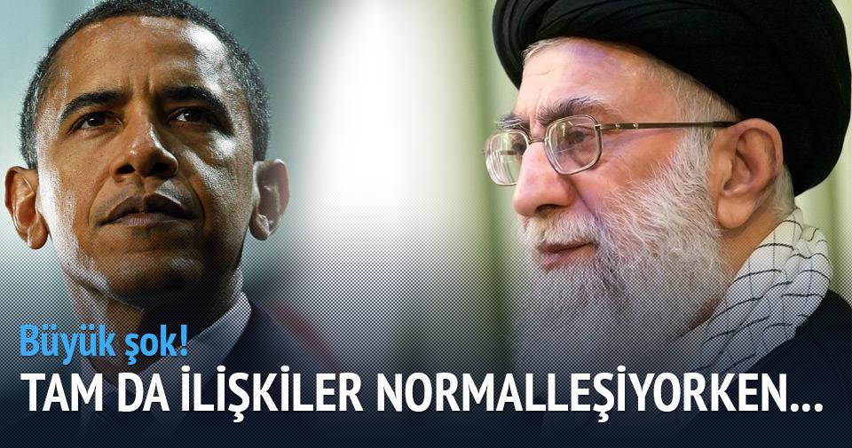 Tahran'ın Washington ile görüşmesine yasak
