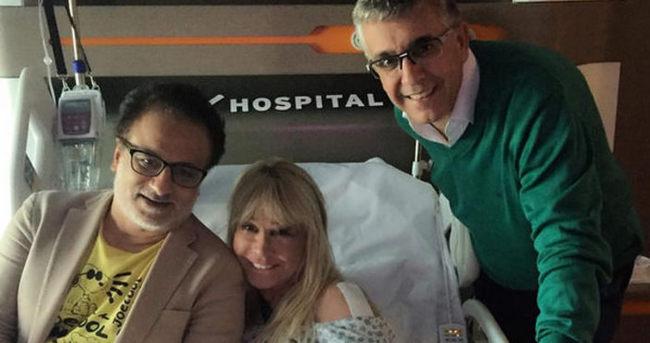 Pakize Suda hastaneye kaldırıldı
