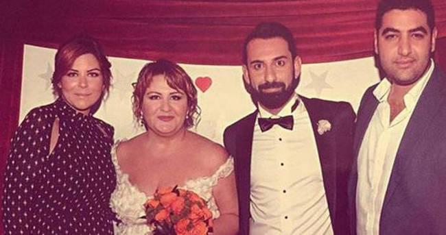 Özlem Türkad ile Ömer Aldemir evlendi