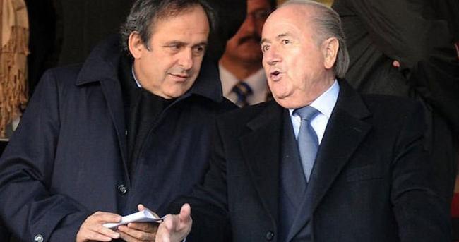 Sepp Blatter ve Michel Platini'ye ceza