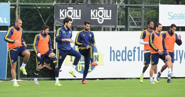 Fenerbahçe, Kayserispor hazırlıklarını sürdürdü