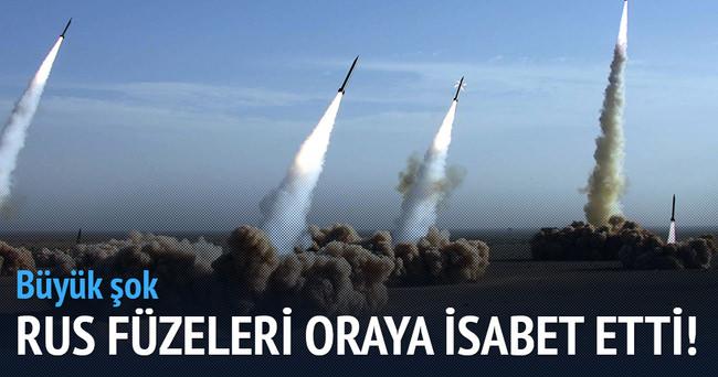 Rusya'nın Suriye'ye gönderdiği füzeler İran'a düştü