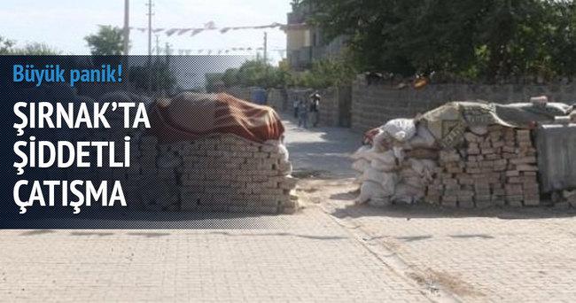 Şırnak'ta şiddetli çatışma! Büyük panik