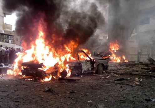 Sınırda büyük çatışma: Bomba yüklü araç patladı
