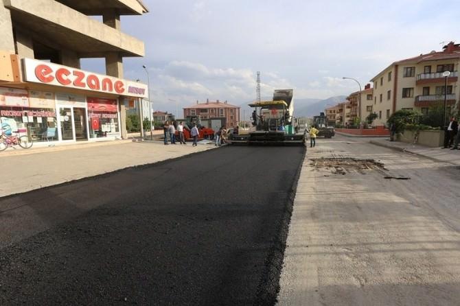 Mimar Sinan Mahallesinde Asfalt Çalışmaları Sürüyor