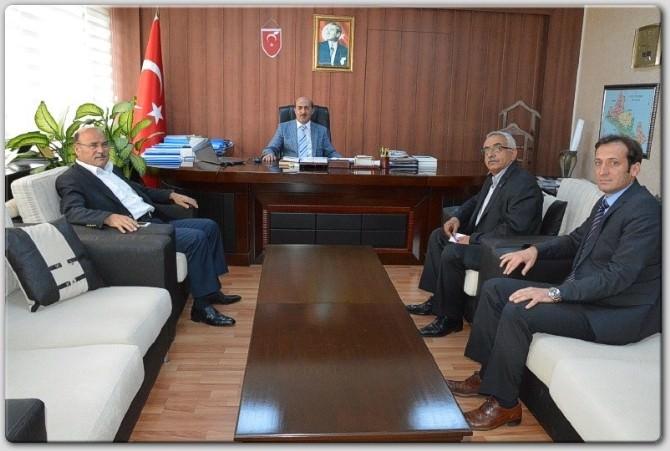 Genel Başkan Turbay'dan, İl Özel İdaresi'ne Ziyaret
