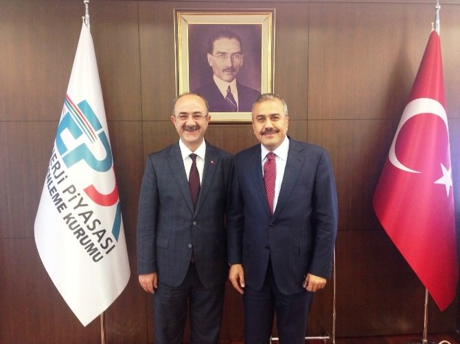 Bünyan Belediye Başkanı Şinasi Gülcüoğlu Dev Yatırımlar İçin Ankara'da
