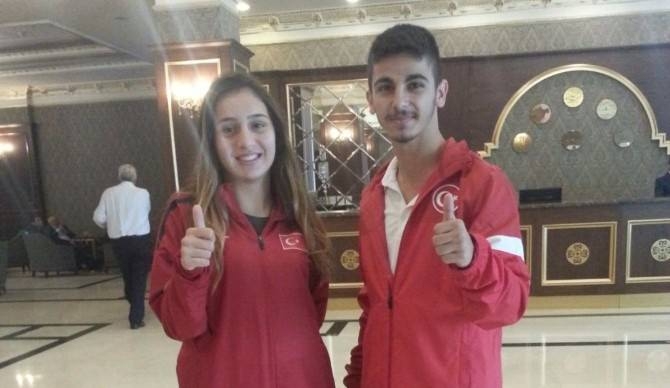 Büyükşehirli Karateciler Dünya Şampiyonasına Hazırlanıyor