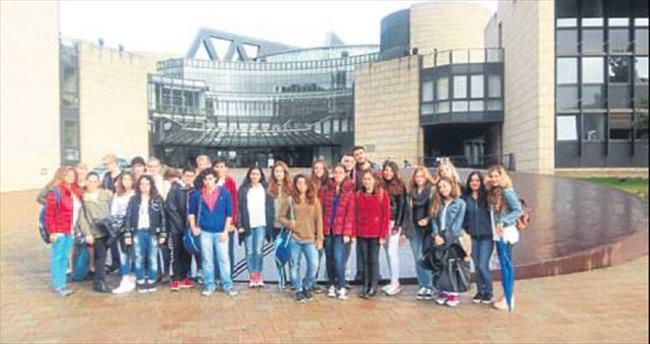 Öğrencilerden Almanya gezisi