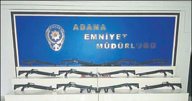 Adana polisinden silah operasyonu