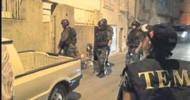 Kadifekale'de terör örgütü operasyonu