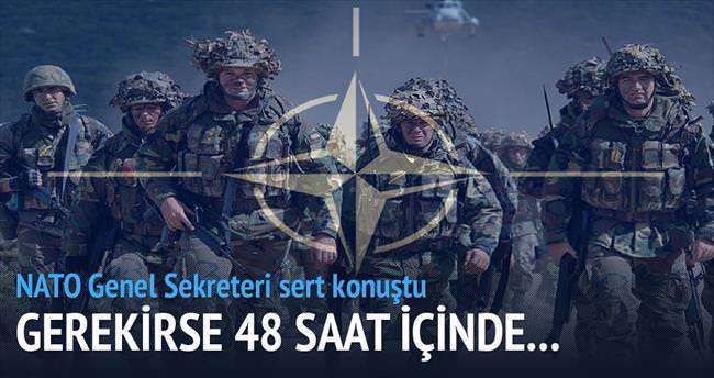 Gerekirse Türkiye'ye asker göndeririz