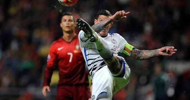 EURO 2016 elemelerinde 8 maç oynandı