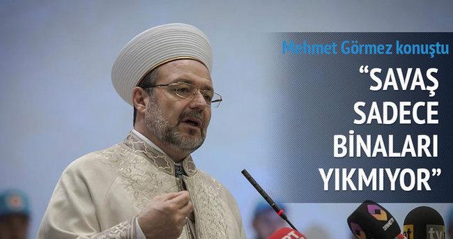 Savaşlar İslami müesseseleri yok ediyor