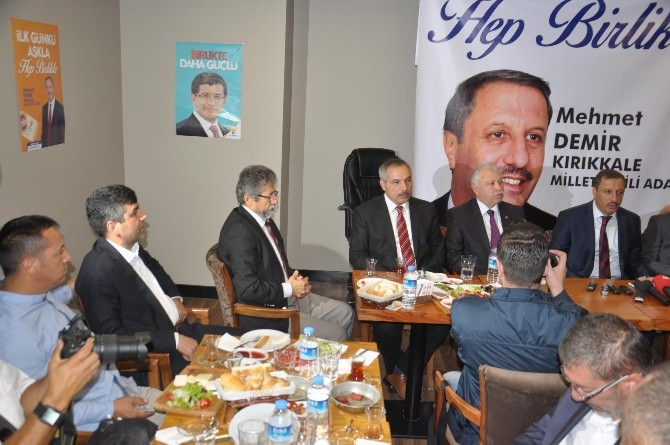 AK Parti Kırıkkale Milletvekili Adayı Mehmet Demir:
