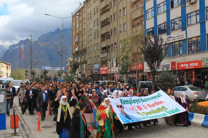Hakkari Protesto Yürüyüşü