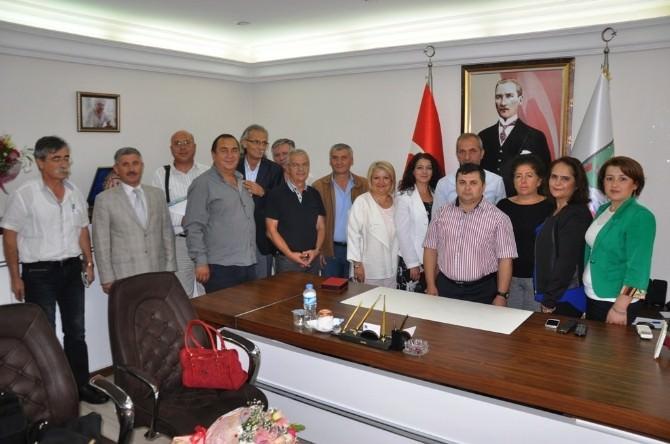 İzmir Kent Konseyleri Birliği Toplantısı Kiraz'da Yapıldı