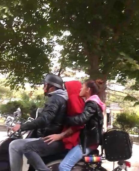 Eskişehir'de Tehlikeli Yolculuk
