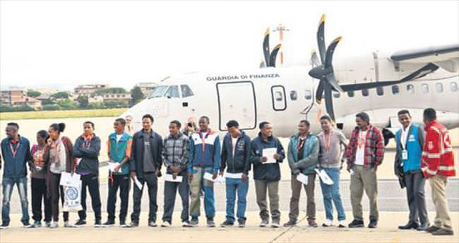 19 Eritreli İtalya'dan İsveç'e gönderildi