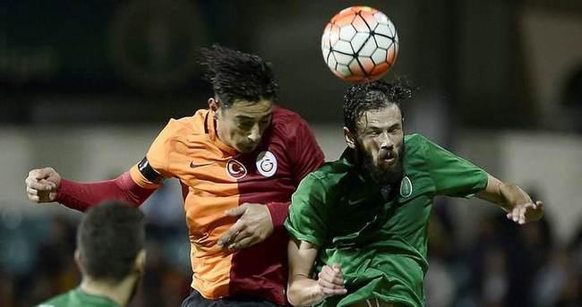 Galatasaray özel maçta kazandı