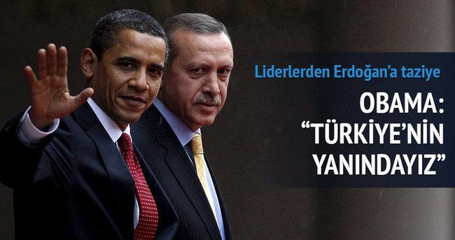 Terör saldırısıyla ilgili Cumhurbaşkanı Erdoğan'a taziye mesajları