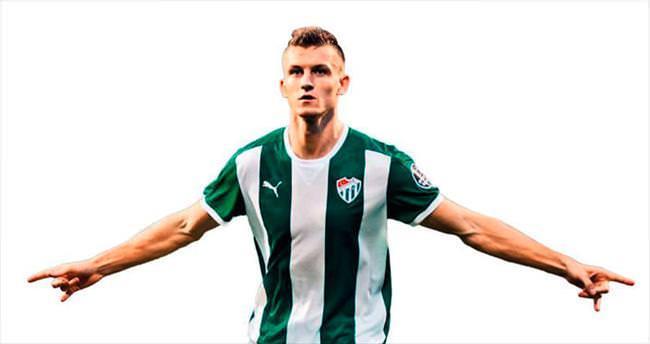 Tomas Necid Bursaspor'u sırtladı