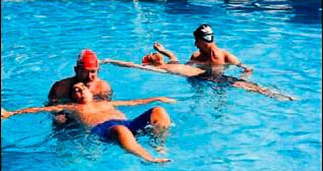 Adana'nın ilk ve tek engelli havuzu